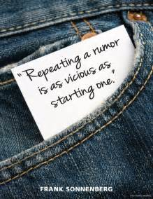 Rumors Quotes and Sayings
