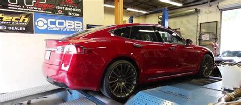 Tesla Model S P100d Ludicrous Plus Dyno Run