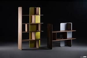 Bibliothèque Design Bois : biblioth que meubles ~ Teatrodelosmanantiales.com Idées de Décoration