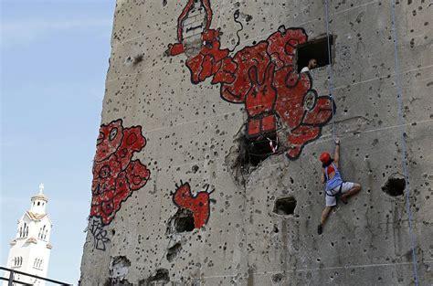 zombie preparing apocalypse imminent shape climbing wall