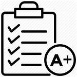 Icon Result Excellent Performance Grade Positive Paper