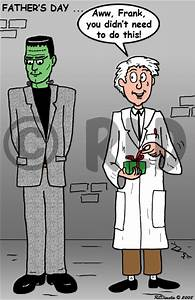 Fathers Day with Dr Frankenstein and his monster
