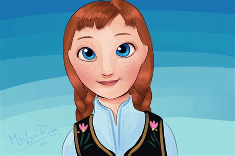 draw anna  frozen  steps  pictures