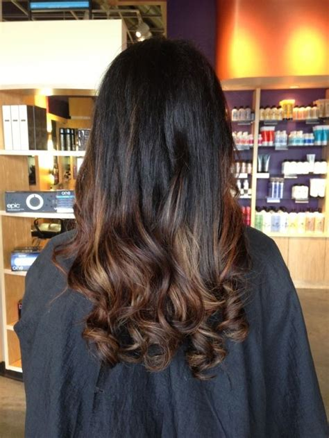 dark brown hair with light brown ombre ombre hair brown dark hair ombre by aleksandra wiza