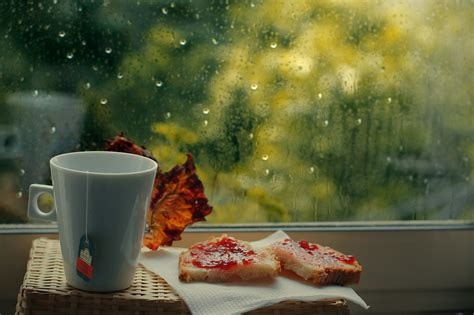 cuisine emotion window cup food emotion water drops hd wallpapers