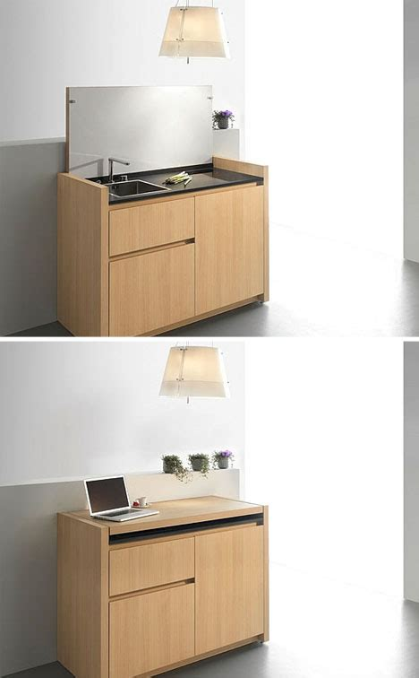 compact kitchenette  tiny life