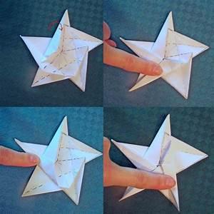 Origami Stern 5 Zacken : origami f r weihnachten 9 weihnachtsstern faltanleitungen ~ Watch28wear.com Haus und Dekorationen