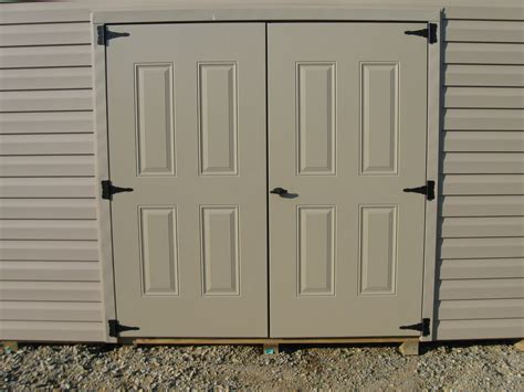 metal storage shed doors shed doors and windows lancaster poly patios