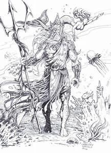 Poseidon by lorkalt on DeviantArt