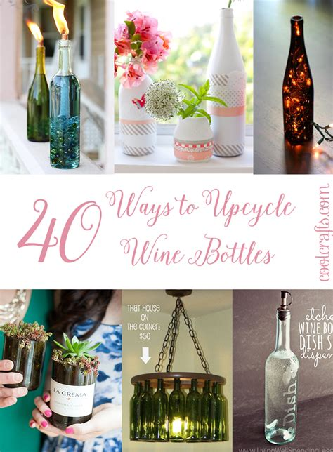 craft ideas for bottles 40 spine tingling upcycled wine bottle craft ideas cool 6132