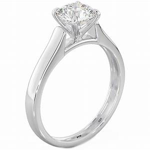 925 silver round cubic zirconia cz solitaire wedding With silver cubic zirconia wedding rings