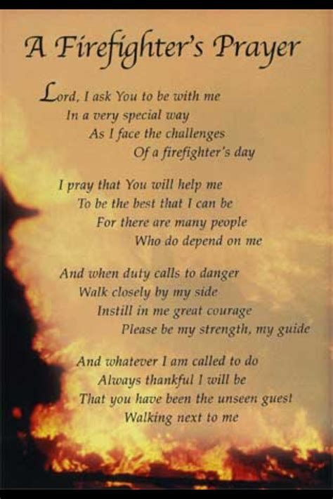 foto de Prayers and poems Firefighter quotes Firefighter