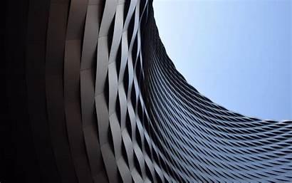 Architecture Building Form 4k Background Minimalism Ultra