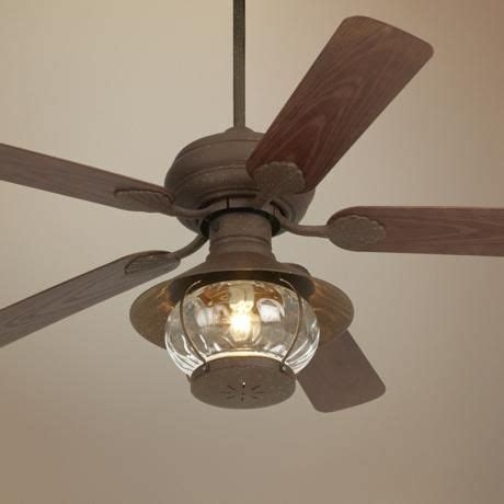 kitchen fans with lights 52 quot casa vieja 174 rustic indoor outdoor ceiling fan 4756