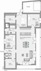 Haus Grundriss Ideen Einfamilienhaus : die 25 besten grundriss bungalow ideen auf pinterest ~ Lizthompson.info Haus und Dekorationen