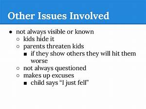 Winton Woods Middle School- Child Abuse (Understanding the ...