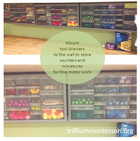 8 Tips for Organizing Practical Life Supplies   Trillium