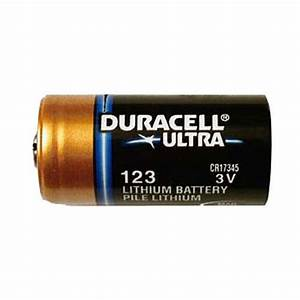 Duracell CR123 DL123A 3V Photo Lithium Camera Battery   eBay