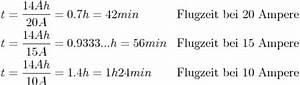 Akku Betriebsdauer Berechnen Formel : elektrische ladungsmenge ~ Themetempest.com Abrechnung