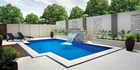 Patio Flooring Ideas Perth by In Ground Backyard Pool And Patio