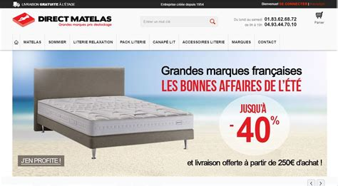 Achat De Matelas by Achat Literie En Ligne Maison Design Wiblia