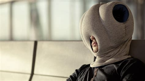 the ostrich pillow finally an excuse to power nap anywhere with the ostrich