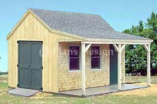 diy storage building plans 16 x 20 with porch wooden pdf