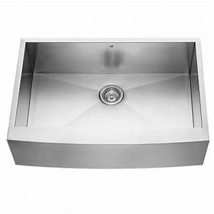 vigo farmhouse apron front stainless steel 33x2225x10 in With 33x22 farmhouse sink