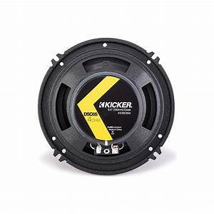Kicker Car Speakers : kicker 41dsc654 6 1 2 d series coaxial 2 way car speaker ~ Jslefanu.com Haus und Dekorationen