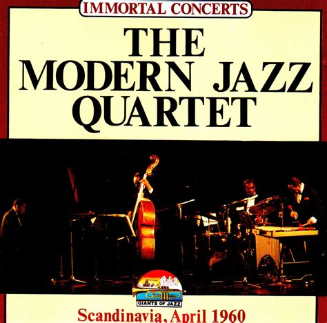 the modern jazz quartet scandinavia april 1960 cd apesound