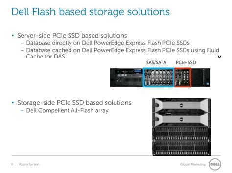 accelerating oracle oltp   dell flash
