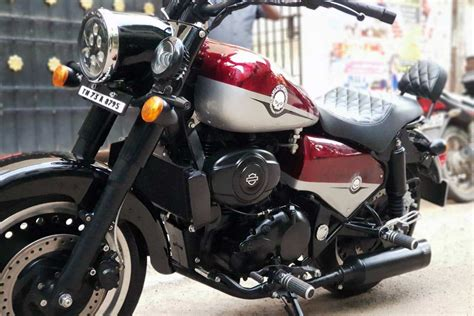 Modification Royal Enfield by Royal Enfield Classic 350 Modified Into A Harley Davidson