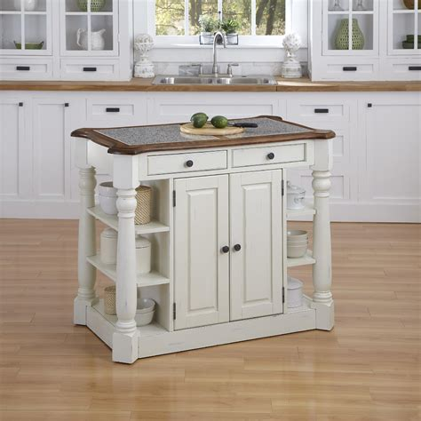 home styles americana kitchen island home styles americana granite kitchen island 7163