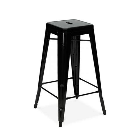 tabouret de bar en m 233 tal inspiration tolix couleur noir mobilier magasin de d 233 co et cadeaux