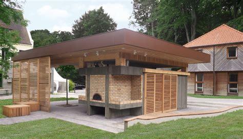 construction cuisine d été cuisine d ete ossature bois