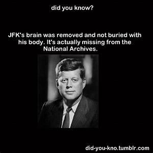 JFK brain | Weird, Strange, Odd and WTF?! | Pinterest ...