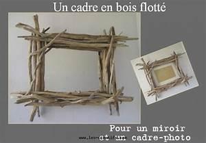 Créer Un Cadre Photo : cadre photo en bois flott ~ Melissatoandfro.com Idées de Décoration