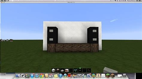 tv stand minecraft project