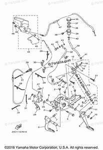 Yamaha Side By Side 2016 Oem Parts Diagram For Pedal Wire