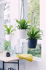 Pot Pour Plante : cache pot suspendus pot de fleurs suspendu et jardini re suspendue marie claire ~ Teatrodelosmanantiales.com Idées de Décoration