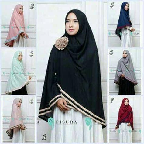 hijab instan syari fisura model  harga murah trend