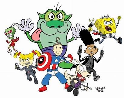 Avengers Clipart Mash Nicktoons Mashup Nicktoon Deviantart