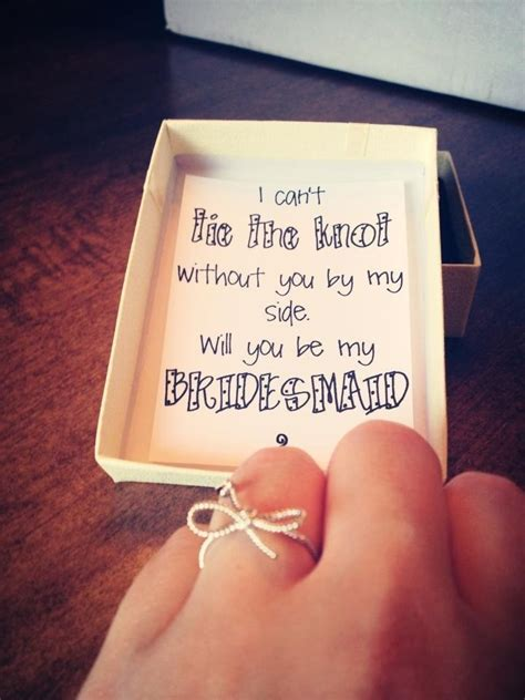 10 creative ways to ask quot will you be my bridesmaid quot eweddingfavors - Ways To Ask Bridesmaids