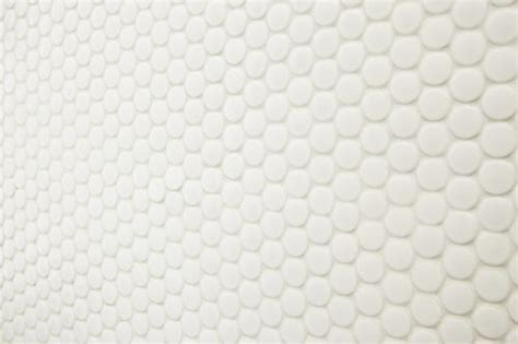 Penny tiles are great for the bathrooms. Mohawk® Vivant Gloss White 12 x 13 Porcelain Mosaic Tile at Menards®