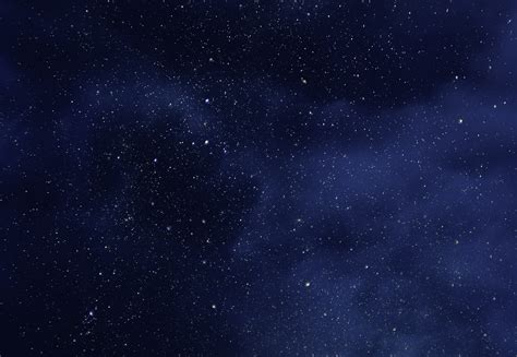 Night Sky With Stars And Soft Milky Way Universe As