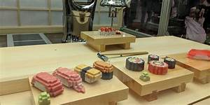 This Robot Sushi Chef Is The Weirdest Gadget At Sxsw