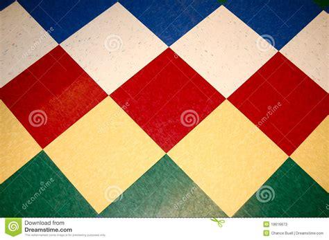 colorful floor tile colorful diamond tile floor stock photos image 18616673