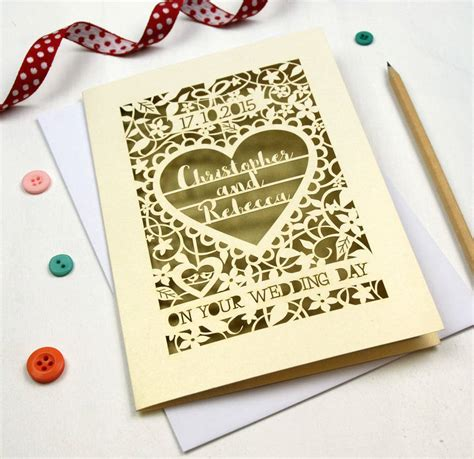 Make Personalised Cards Personalised Papercut On Your