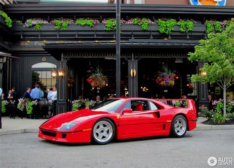 Tyco #7 f40 yellow ferrari lot of 70 slotcar bodies brand new! Ferrari F40 - 18 July 2013 - Autogespot
