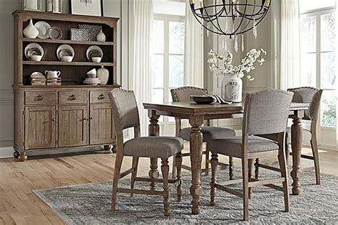 tanshire counter height dining room table  ashley